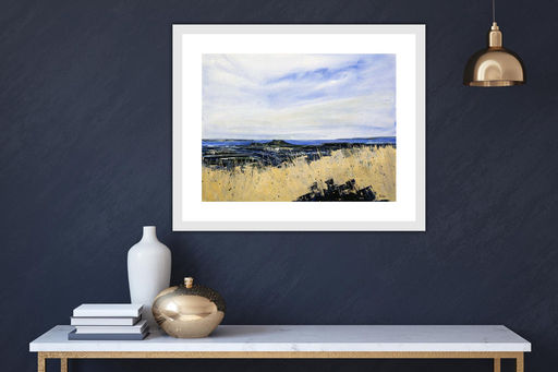 Small View From Arthurs Seat Art Print