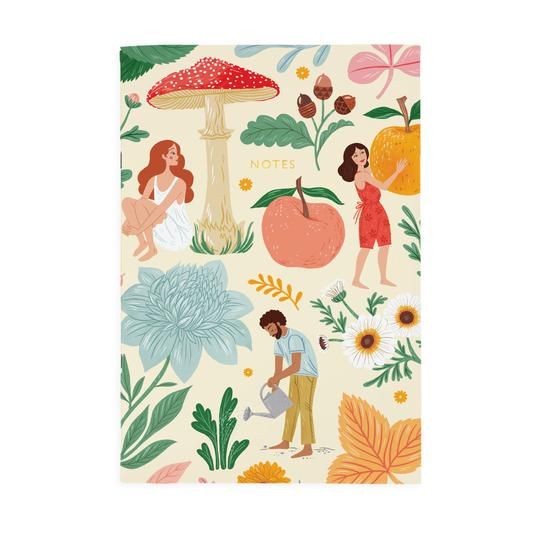 A4ish Autumn Garden Notebook