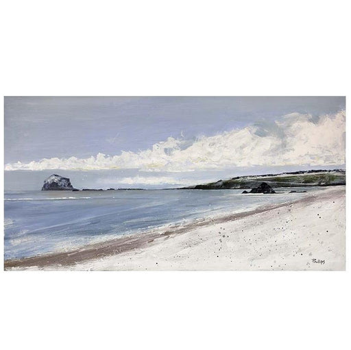 Large Bass Rock Print