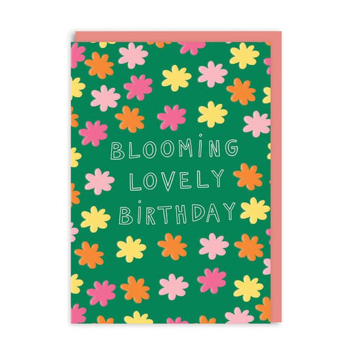 Blooming Lovely Birthday Bright Floral Card