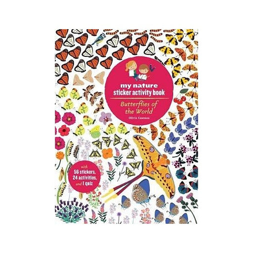 Butterflies of the World  Sticker Book