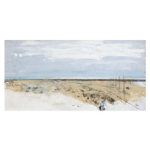 Large Causeway Art Print by Amanda Phillips
