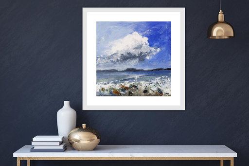 Large Cloud Howe Print