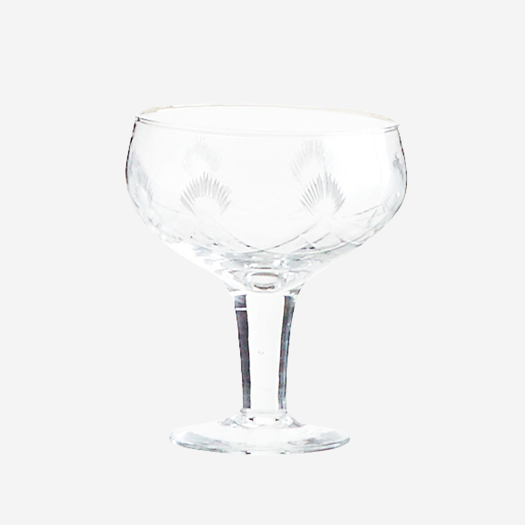 Cut Glass Cocktail Glass