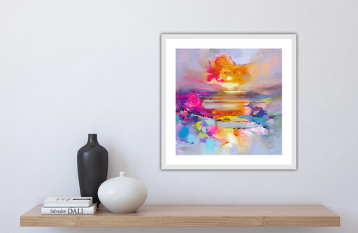 Colour Combustion Art Print