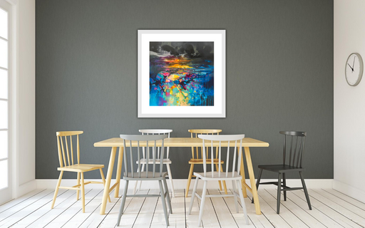 Colour From Darkness Art Print