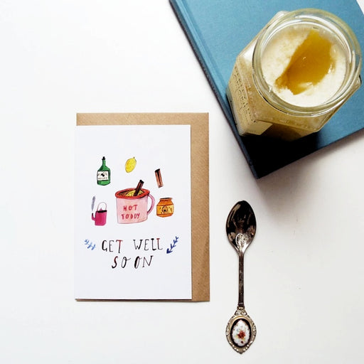 Hot Toddy Get Well Soon Card