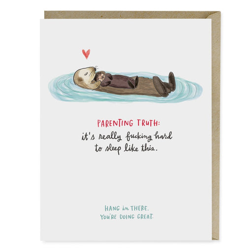 Parenting Truth New Baby Card