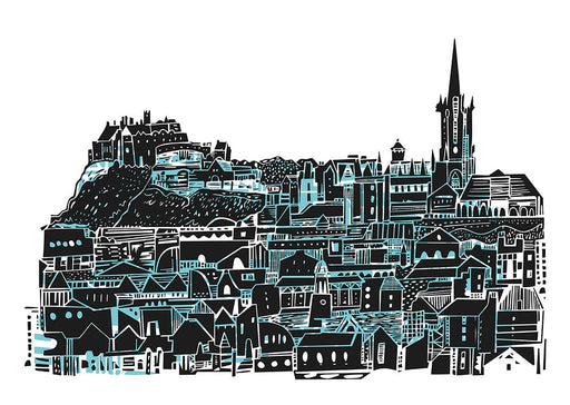 Edinburgh Castle View Art Print