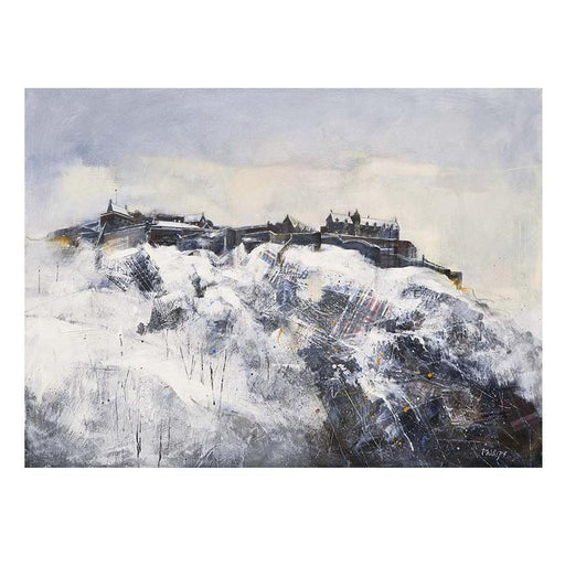 Small Edinburgh Castle Art Print
