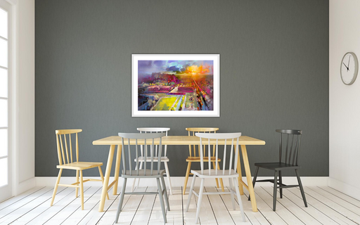 Edinburgh Equinox Art Print