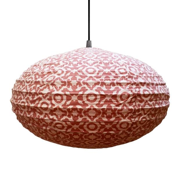 Eva in Drying Plaster Pink Lampshade - 80cm