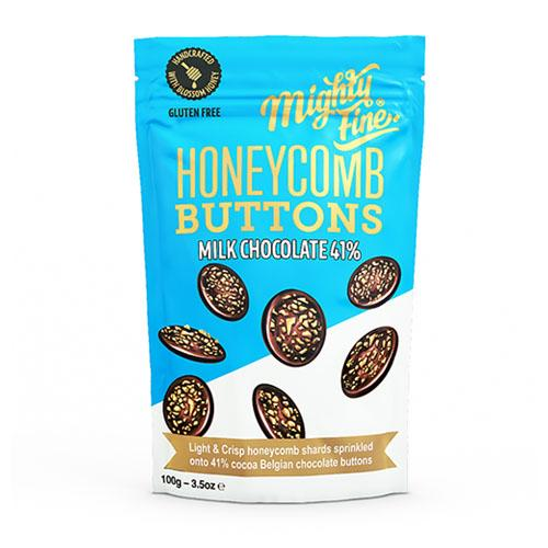 Honeycomb Milk Chocolate Buttons