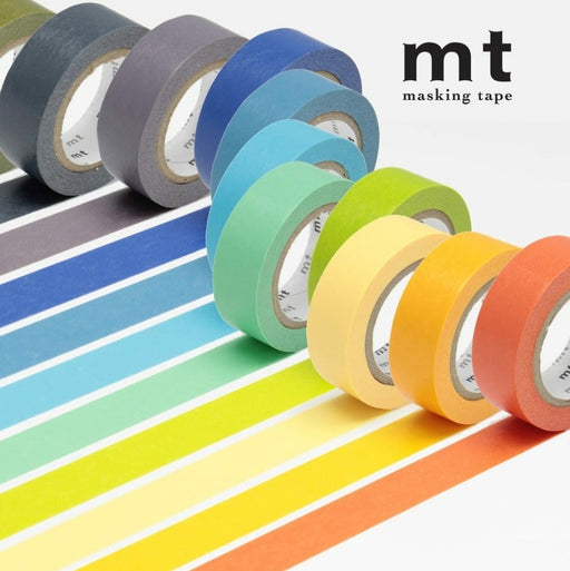 Plain Coloured MT Washi Tapes