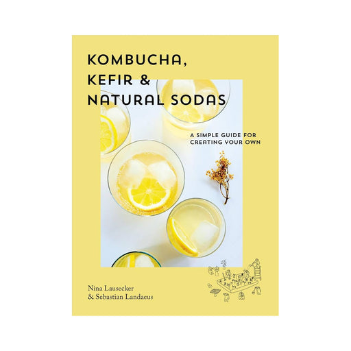 Kombucha Kefir And Natural Sodas Recipe Book