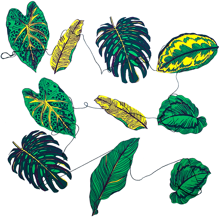 Leaves Paper Garland