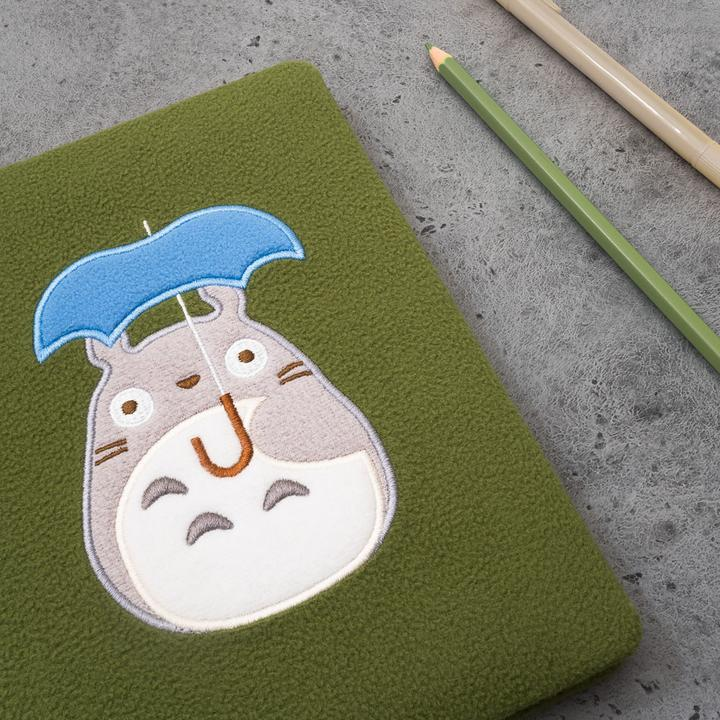 My Neighbour Totoro Plush Covered Note Book