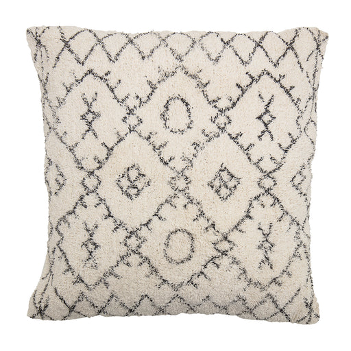 Cream & Grey Nea Cotton Cushion