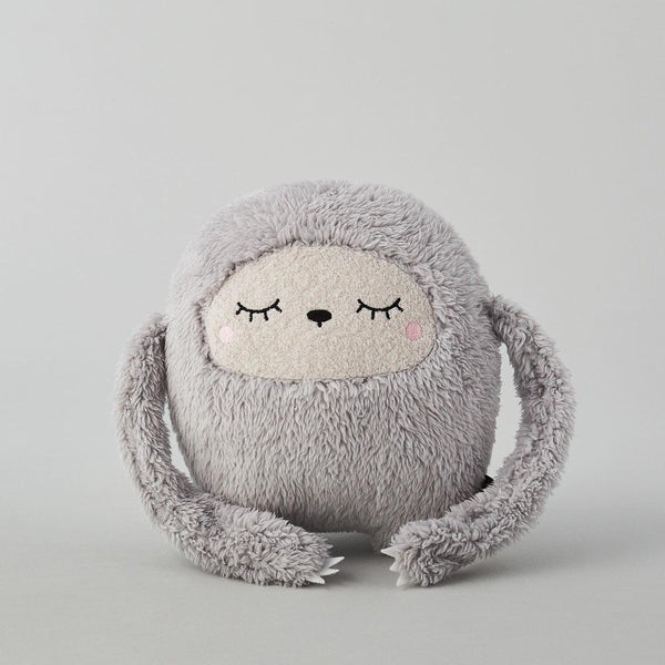Grey Sloth Plush Toy