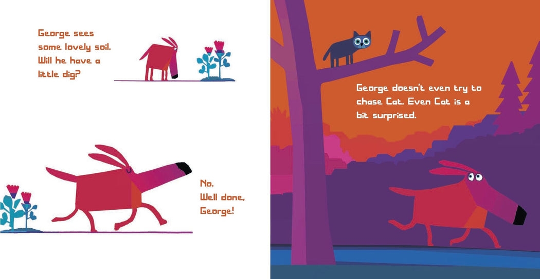 Oh No George Board Book