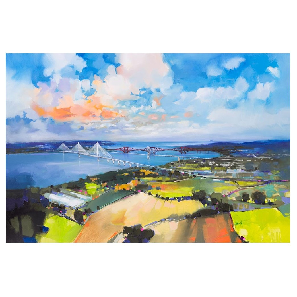 Queensferry Crossing Art Print