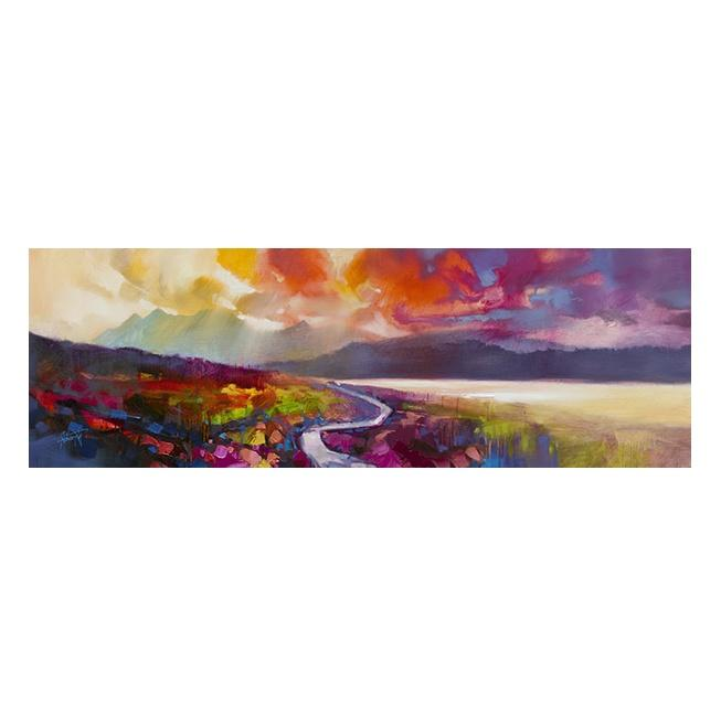 Raasay Road Art Print