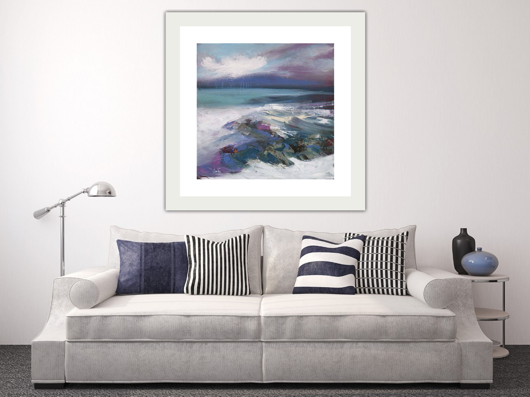 Large Sanna Bay Art Print