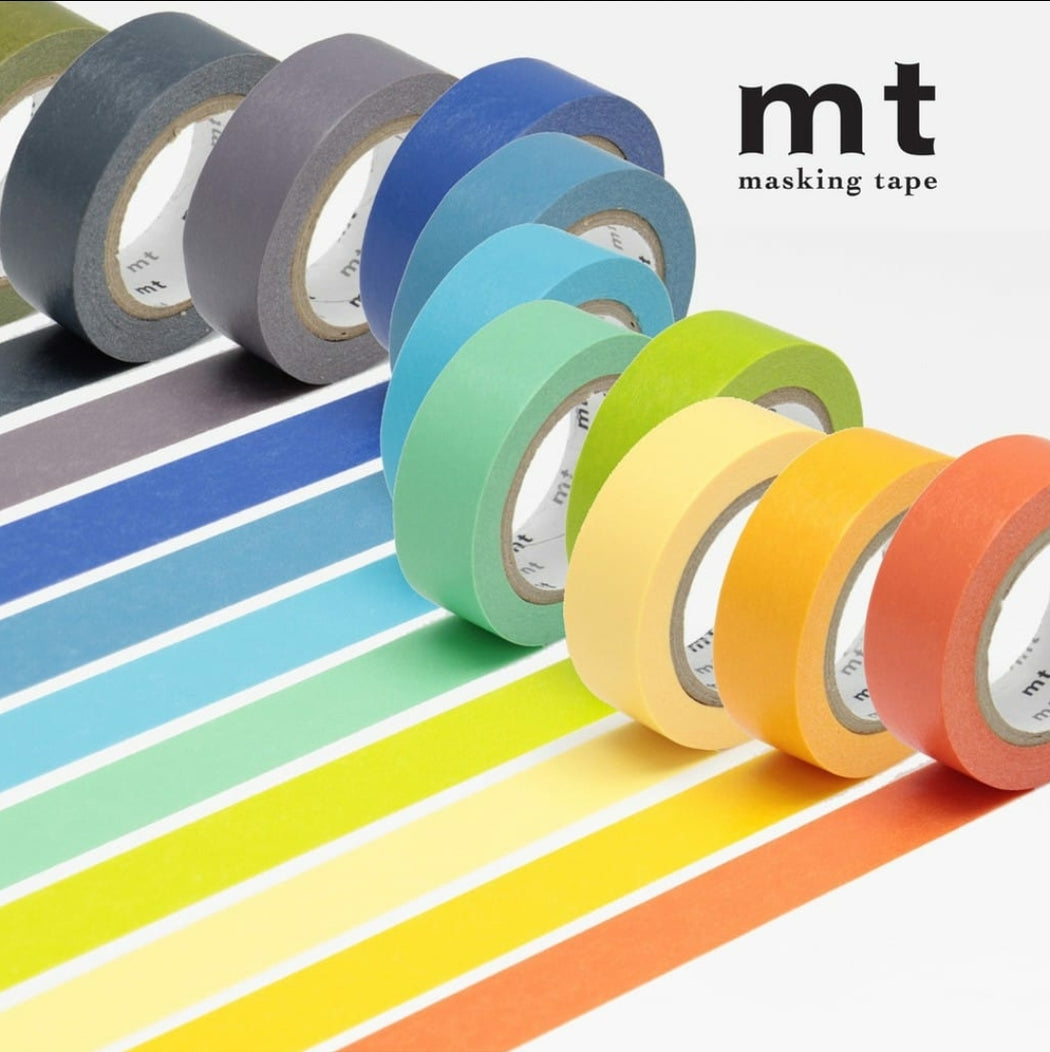 Set of 4 Pastel Washi Masking Tapes