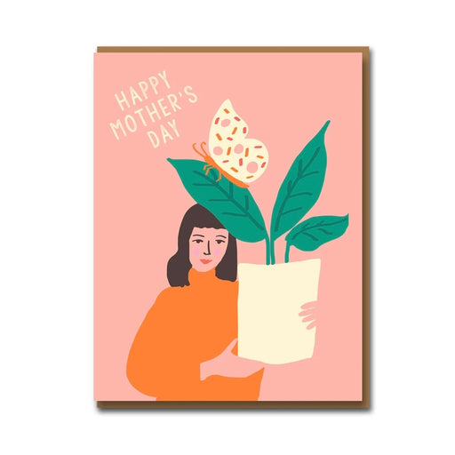 Plants For Mum Mother's Day Card