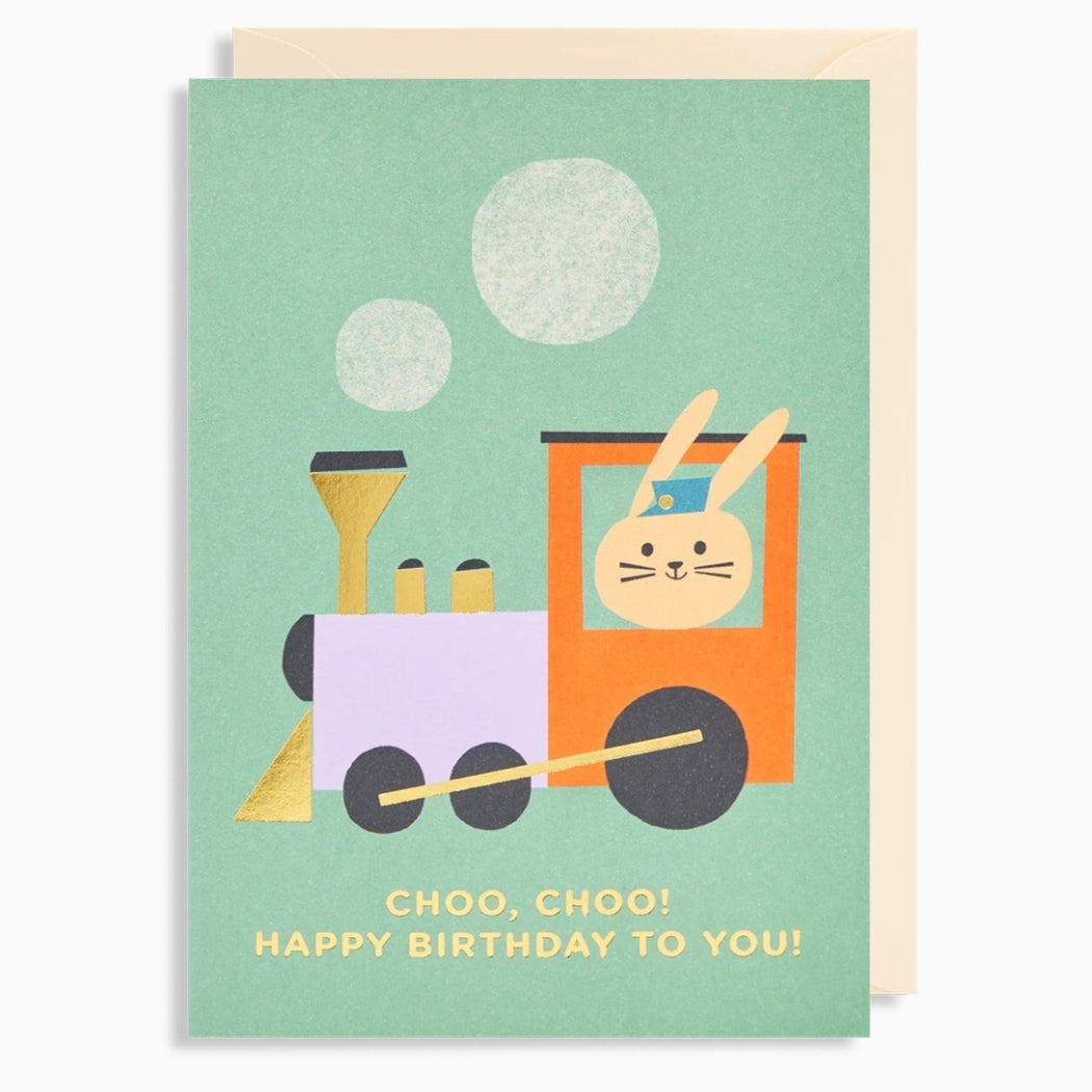 Choo, Choo Train Birthday Card