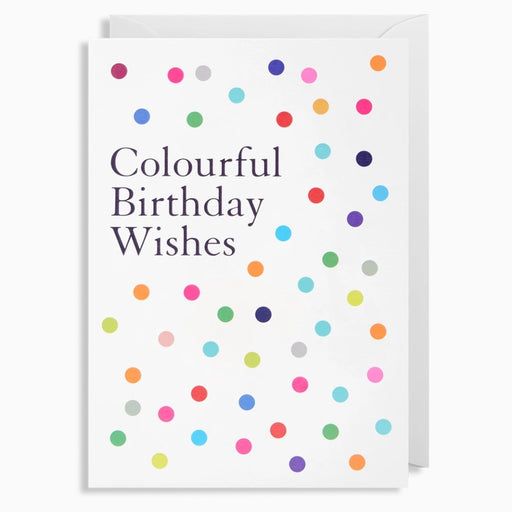 Colourful Birthday Wishes Card
