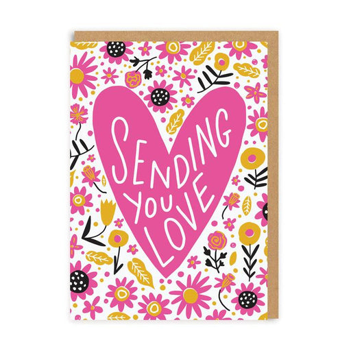 Sending You Love Blank Card