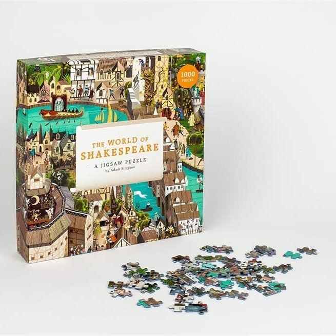 The World of Shakespeare  - 1000 Piece Jigsaw Puzzle