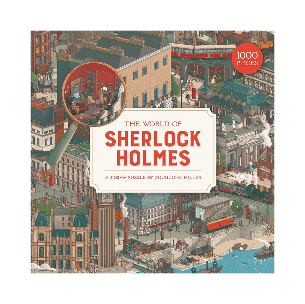 The World Of Sherlock Holmes  - 1000 Piece Jigsaw Puzzle