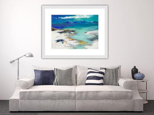 Small Sound of Jura Art Print