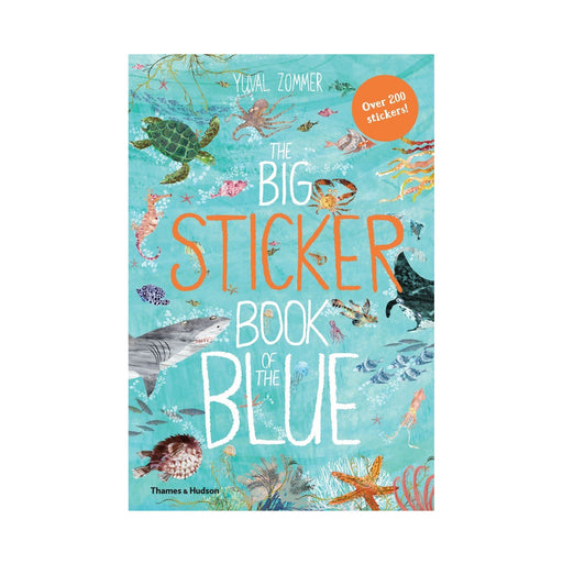 The Big Sticker Book Of The Blue Activity Book