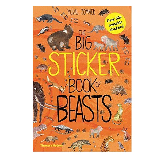 The Big Sticker Book Of Beasts Activity Book