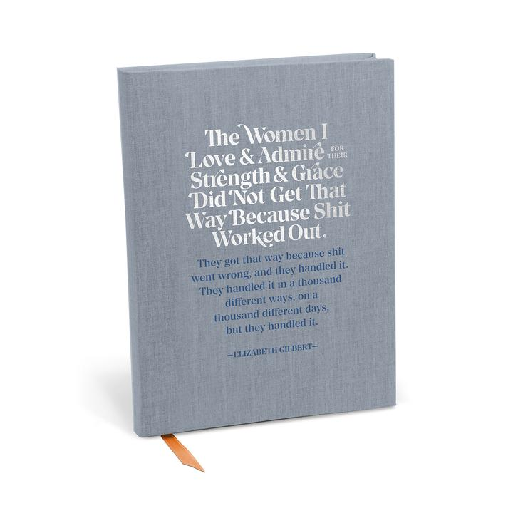 The Women I Love And Admire Journal