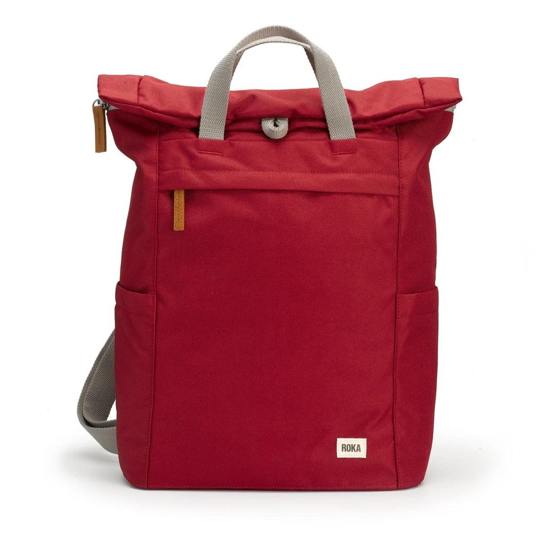 Medium Volcanic Red Sustainable Finchley Backpack
