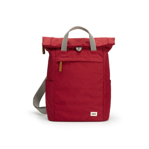 Small Volcanic Red Sustainable Finchley Backpack