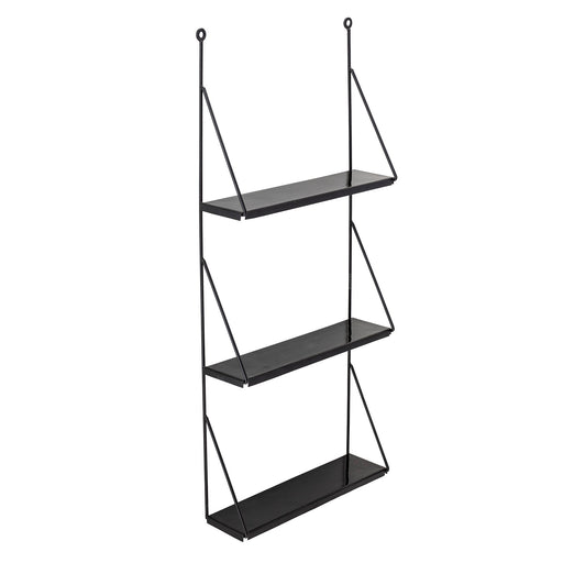 Black Metal Walter Wall Shelf