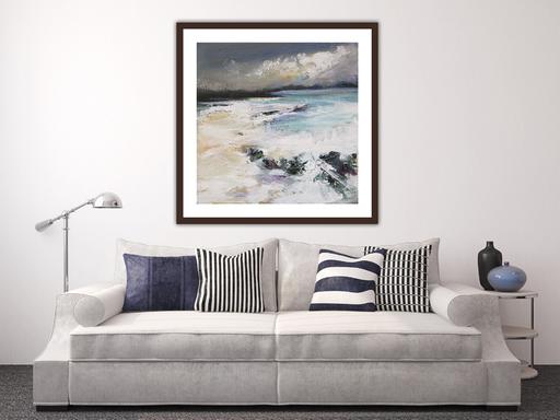 Large Welcome To Argyll Art Print