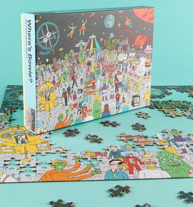 Where's Bowie - 500 Piece Jigsaw Puzzle