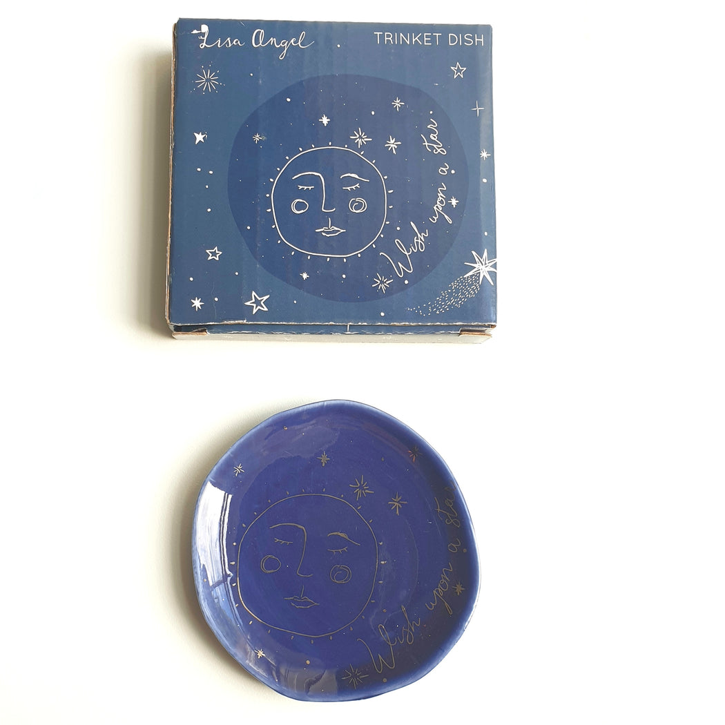 Wish Upon A Star Ceramic Trinket Dish