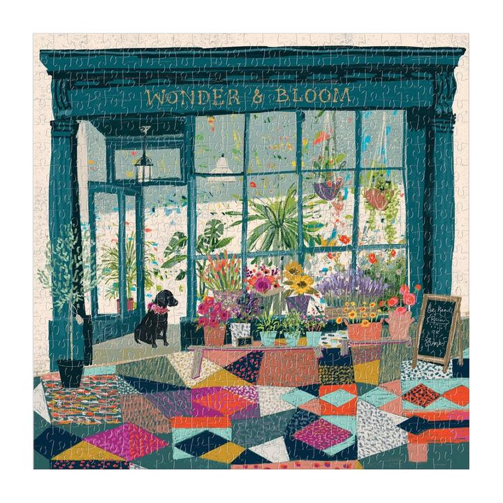 Wonder & Bloom - 500 Piece Jigsaw Puzzle