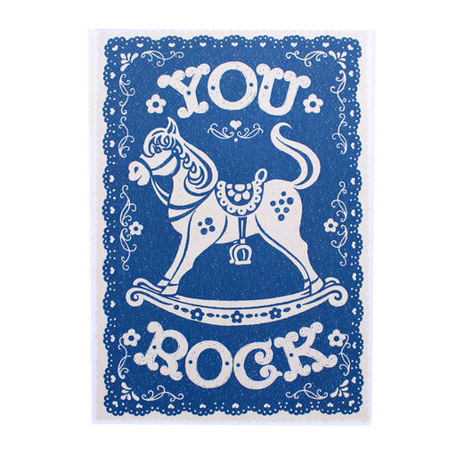 You Rock Print by Alexandra Snowdon
