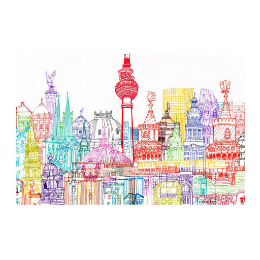 Berlin Towers print