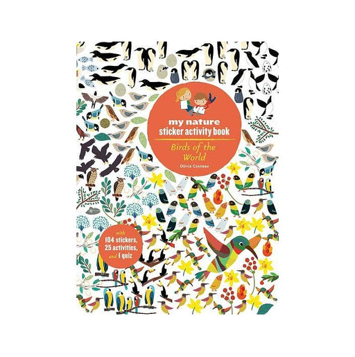 Birds of the World Sticker Book