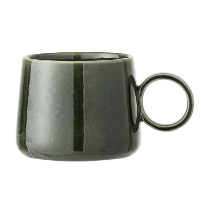 Green Ceramic Stoneware Mug