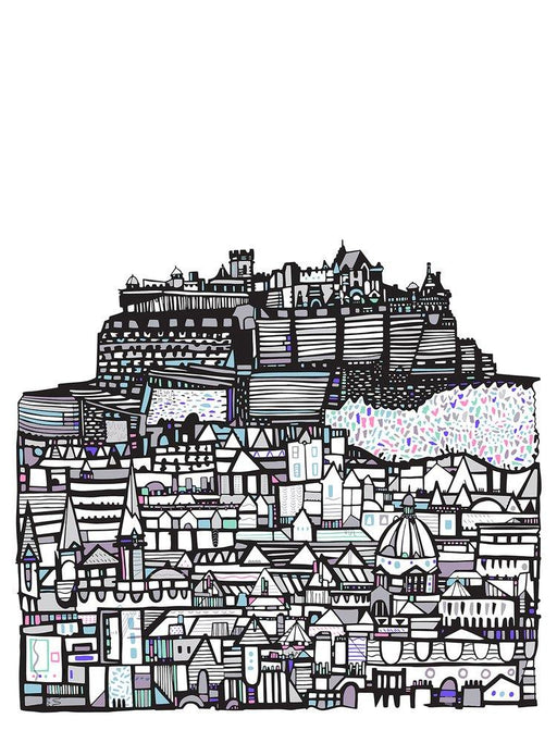 Small Castle City Art Print